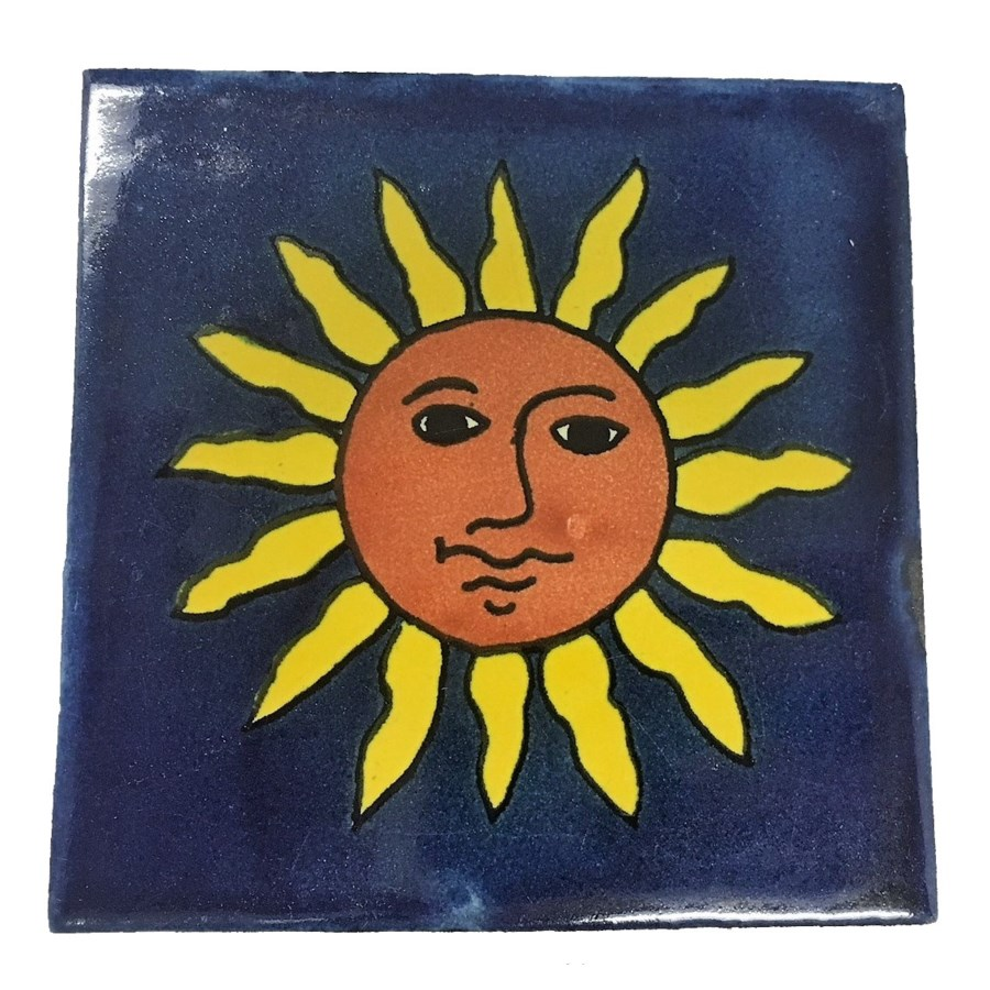 Coaster/Tiles Set/4 Sunshine