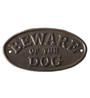 """Sign """"Beware of the dog"""""""