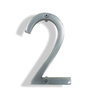 """""""Silver House Number, 2"""""""