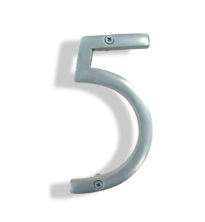 """""""Silver House Number, 5"""""""