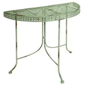 IH Half round table. Metal. 78,0x36,2x74,5cm. oq/2,mc/1 Pg.106