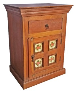 Vintage Bedside Table 20x15x28 inches