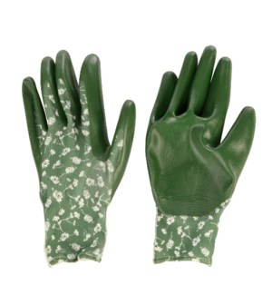 Polyester nitril gloves patterned M