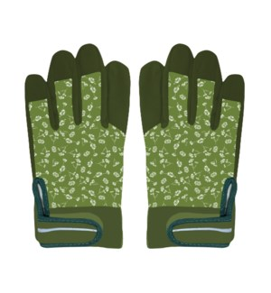 Garden workwear gloves patterned M