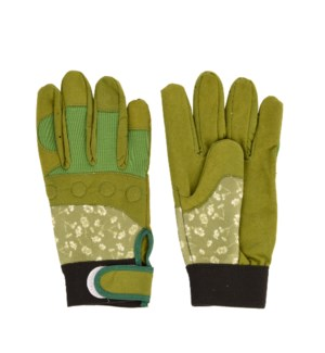 Garden workwear gloves patterned S