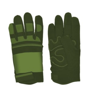 Garden gloves warm lined L