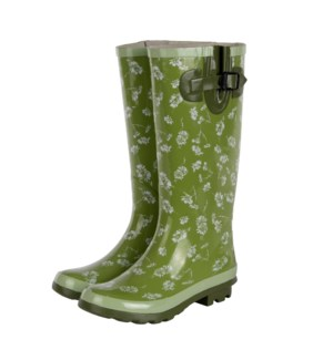 Garden wellies patterned