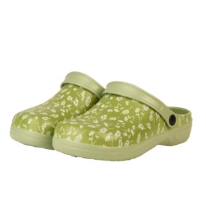 Garden clogs patterned