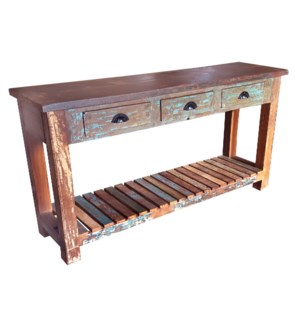 Recycled Wd Console Table 3dr