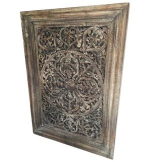 Wooden Carved Jali Panel (Various designs and colors) 30x40