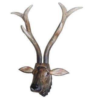 Deer Head Long Horns