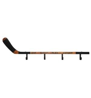 Hockey Stick 4 Hooks