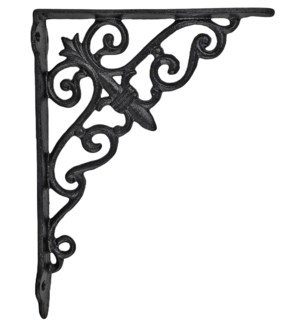 classic shelf bracket, 10.5x1.5x7.5