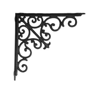 victorian shelf bracket, medium 10.6x10.6x1.96