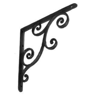 rustic shelf bracket, medium, 10x0.9x10