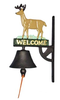 Deer Door Bell, Coloured