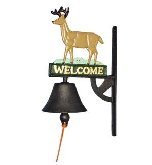 Deer Door Bell, Coloured *Last Chance!*