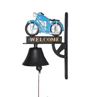 Motorbike Doorbell Cast Iron8.35x5.12x12.99 *Last Chance!*