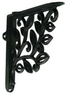 Leaf Design Bracket Large 7.1x7.9x1.6inch