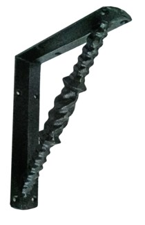 Twist Bracket. Cast iron. 8.07x7.08x1.57inch.