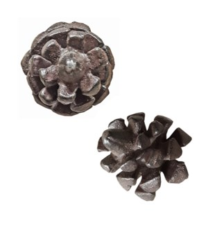 """Pull Knob-Pinecone, CastIrn OS"""