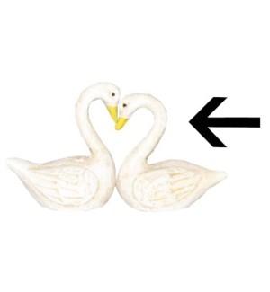 """Swan B, Cast Iron, Wht LC"""