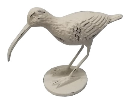 Sandpiper, Antique White, Cast iron,