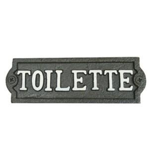~toilette~ plaque