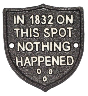 ~Nothing Happened~ Shield Sign