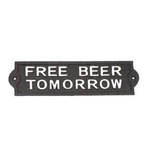 ~FREE BEER~ plaque