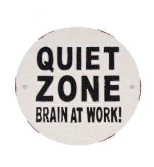 Quiet Zone Plaque