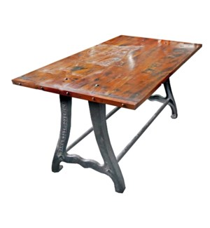 Cast Iron Table and top OS
