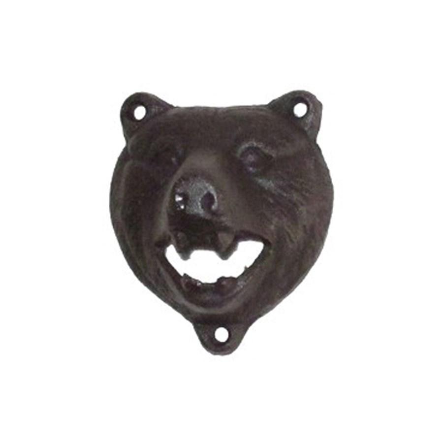 Bottle Opener Bear Black