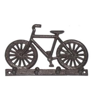 """""""Bicycle 4 Hook Rack, Black"""""""