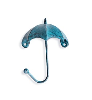 """umbrella hook, blue"""