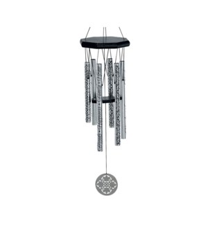 family, friends, home 28inch 6 tubes - word chime