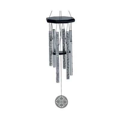 family, friends, home 28inch 6 tubes - word chime - jw stannard