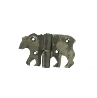 Bear Hinge, Small, Oil Rubbed, 3x2inch On sale 30 percent off