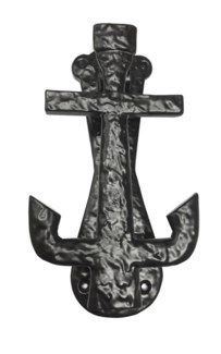Anchor Door Knocker, 7.5 , Black