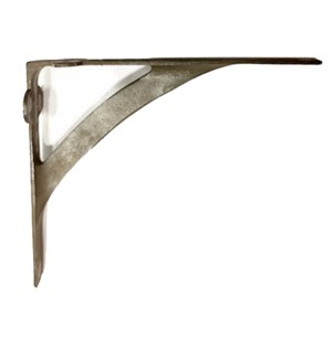 Avant Shelf Bracket, Aged Metal Patina,10x7.5x2 inches