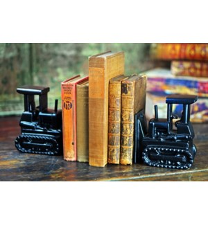 Tractor Book Ends Set/2 OS