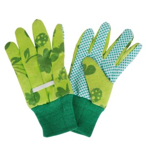 Children gloves green