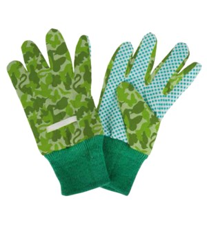 Children gloves camouflage print