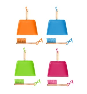Children dustpan and broom 4/a