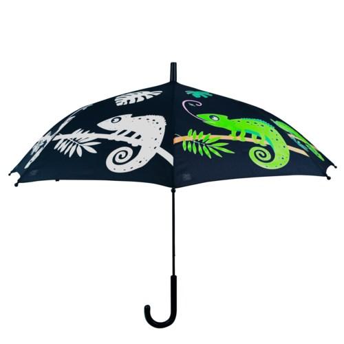 Colour changing umbrella chameleon