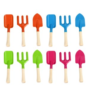 Children garden tools set/3 4/ass.