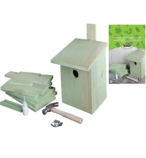 """DIY nesting box. pinewood, zi"""