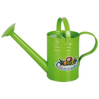 Watering Can green. Zinc. 33,4x12,9x22,8cm.