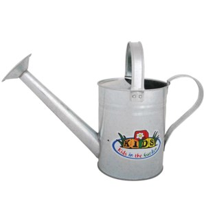 Zinc Watering Can. Zinc. 33,4x12,9x22,8cm. oq/12,mc/24 Pg.101