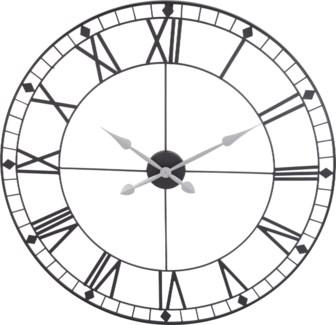 HZ1003310 - Albus Wall Clock.  Roman Numerals D:35 inches,